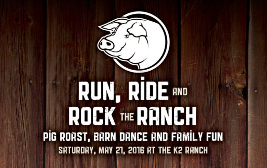 Run, Ride and Rock The Ranch