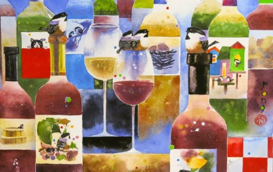 ART, WINE, FOOD with Alex Fong!